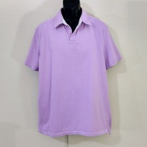 Banana Republic lavender polo size XL